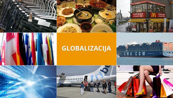 Globalizacijos sritys